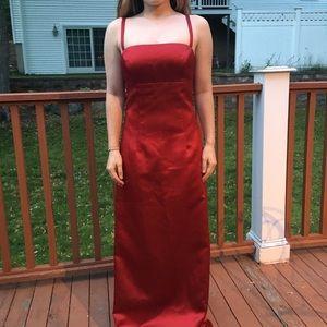 Nicole Miller Red Evening/Bridesmaid Dress